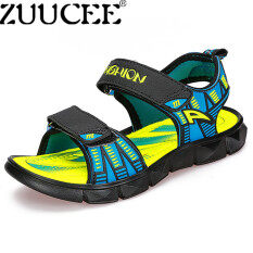 ZUUCEE Bé Trai Giày Xăng Thoáng Khí Mùa Hè Dép Nam Đi Biển (màu xanh dương)-quốc tế