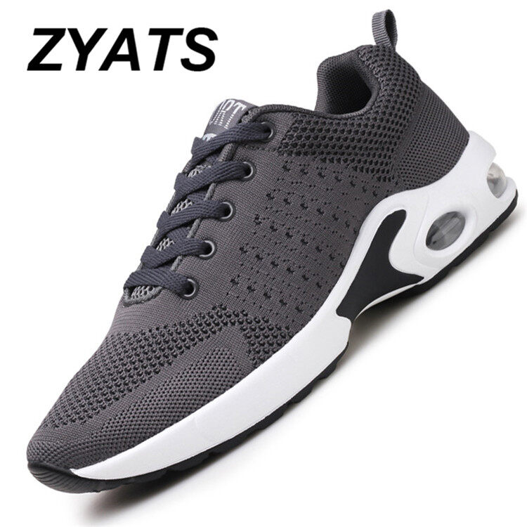 ZYATS 2017 New Sports Shoes Men 's Running Shoes Korean Version of The Trend of Men' S Outdoor Sports Jogging Shoes Casual Cushion Plate Shoes - intl