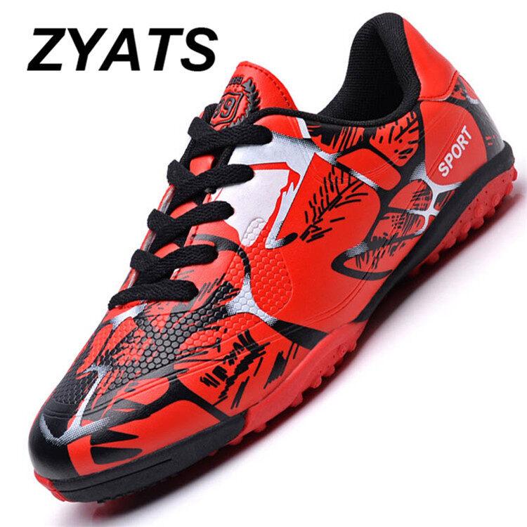 0cb3c2c15 ZYATS 2017 New Turf Indoor Soccer Futsal Shoes Men s Outdoor Soccer Shoes