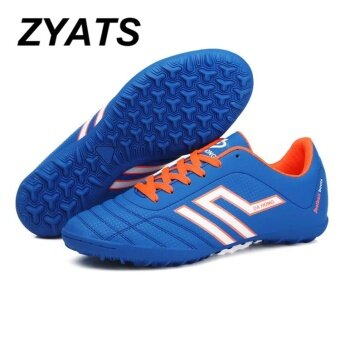 8eddc895a ZYATS New Children and Adults Indoor Lawn Professional Training Futsal Shoes  Lace-up Wear ...
