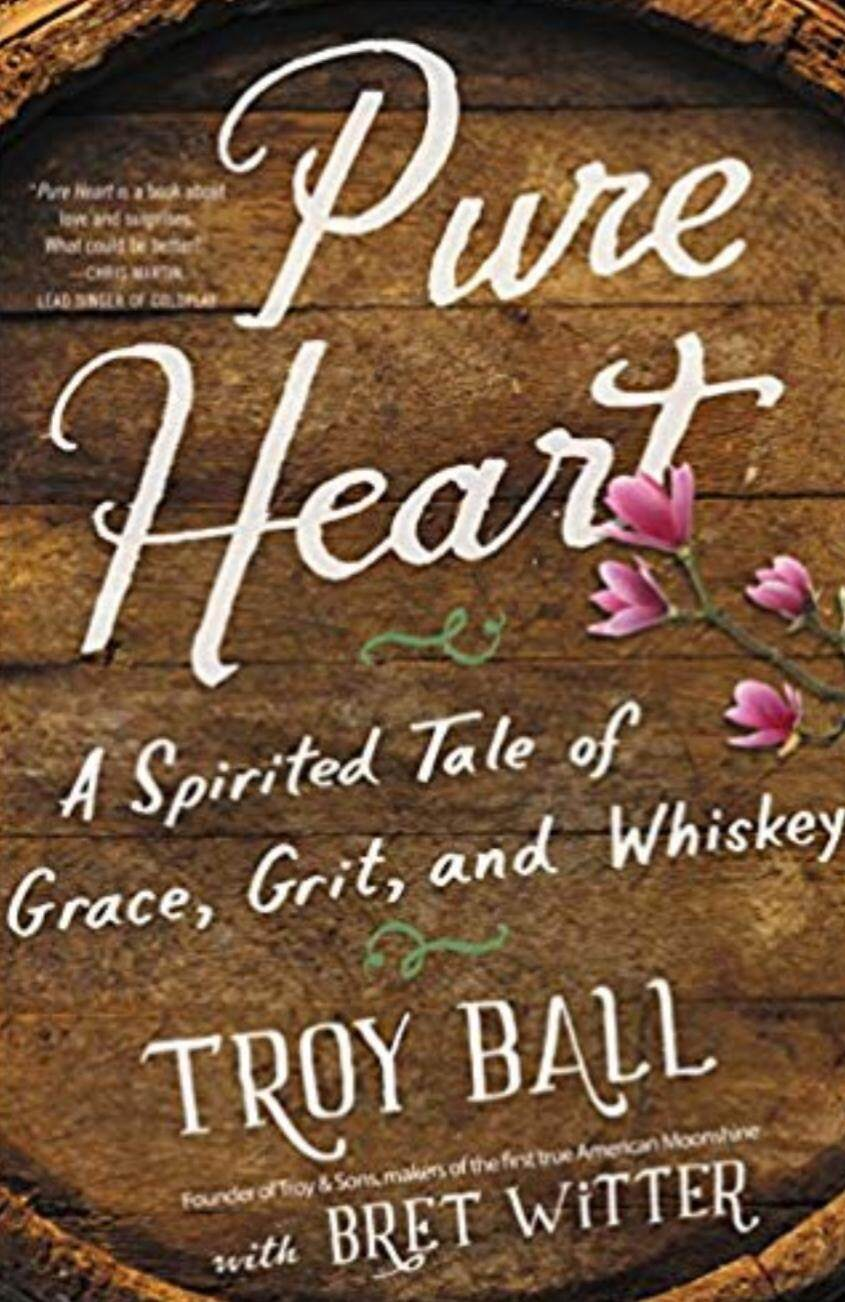 PURE HEART Troy Ball with Bret Witter (Hard Cover)