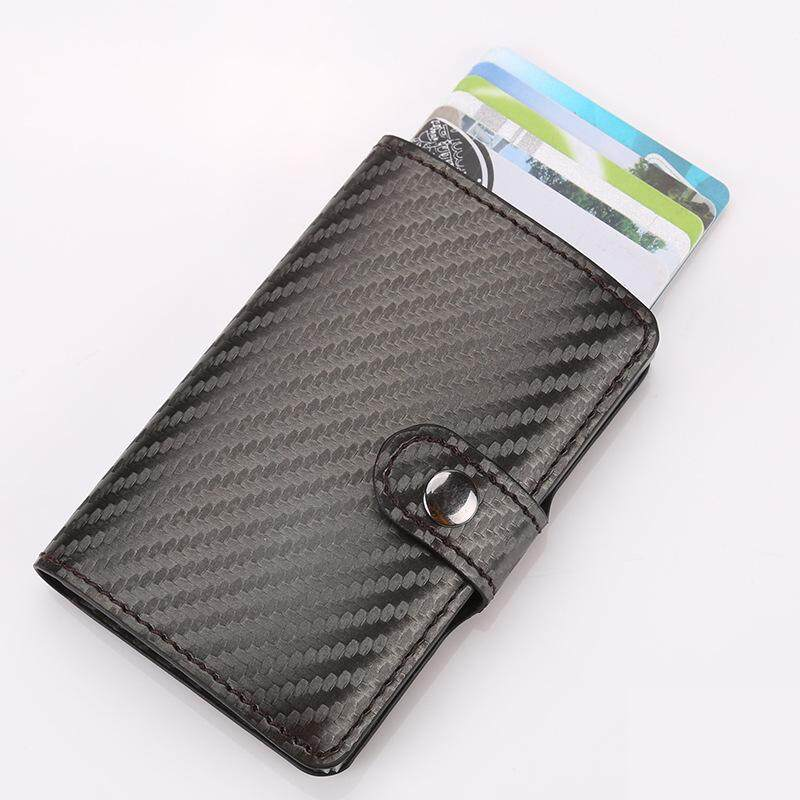 f6035ab30 2018 men and women RFID Blocking credit card holder id business card case  wallet for women