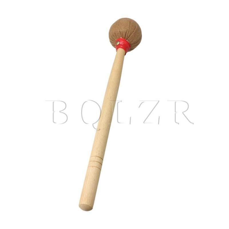 390mm Sang Trọng Cấp Bass Vồ Nhạc Cụ Dùi Trống với Phong Tay Cầm Nâu
