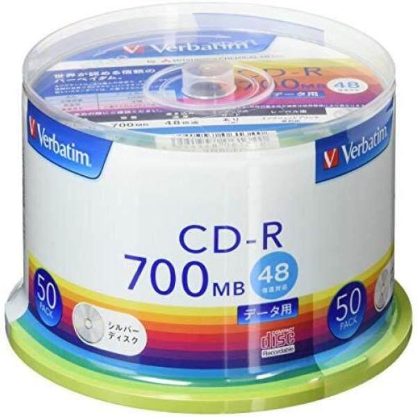 Verbatim Japan Mitsubishi Chemical Media Verbatim 1 times for recording CD-R SR80FC50V1 (48 speed / 50 sheets) Silver