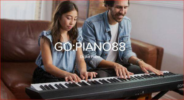 Roland GO Piano 88-Key Full Size Portable Digital Piano Keyboard with Onboard Bluetooth Speakers MIDI (GO-88P) Malaysia