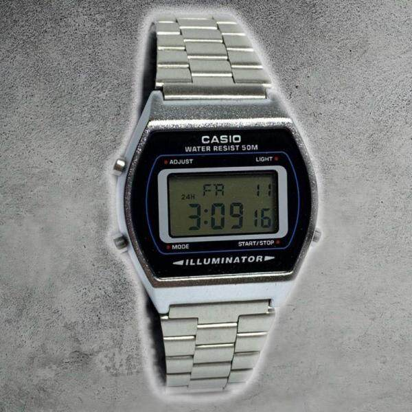CASIO_Collection Digital Beautifully Retro_CASIO_Vintage Collection  Watch Gold RoseGold Silver Colore Dial Edition Full Set Malaysia