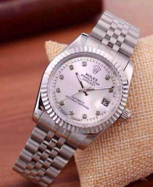 36mm Busines Rolex_Datejust_Fully Automatic Women Watch Unique Good Looking Design New Arrival Date Display Free Genuine Gift Box Malaysia