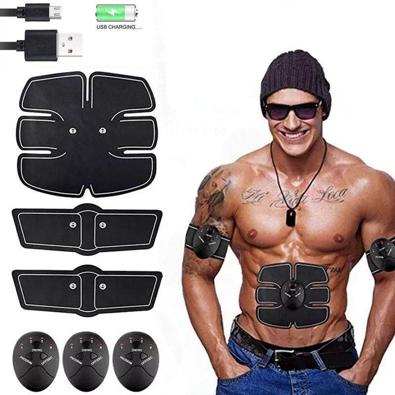 Smart Muscle Trainer Fitness Abdominal Sticker Body Muscle Massager Press Stimulator Pad Fitness Gym Equipment Abs Arm Stickers A Wide Selection Of Colours And Designs Fitness Equipments