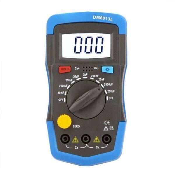 Condenser - DM6013L Handheld Capacitance Meter Condenser Meter w / LCD Backlighting