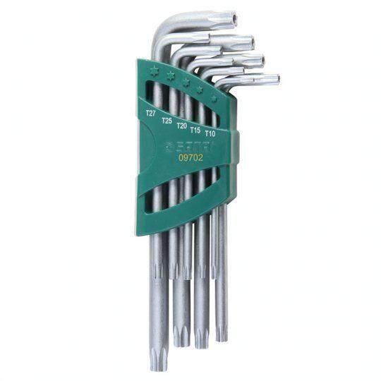 Sata 09702 9Pc. Torx® Tamper Proof Key Set ID448584