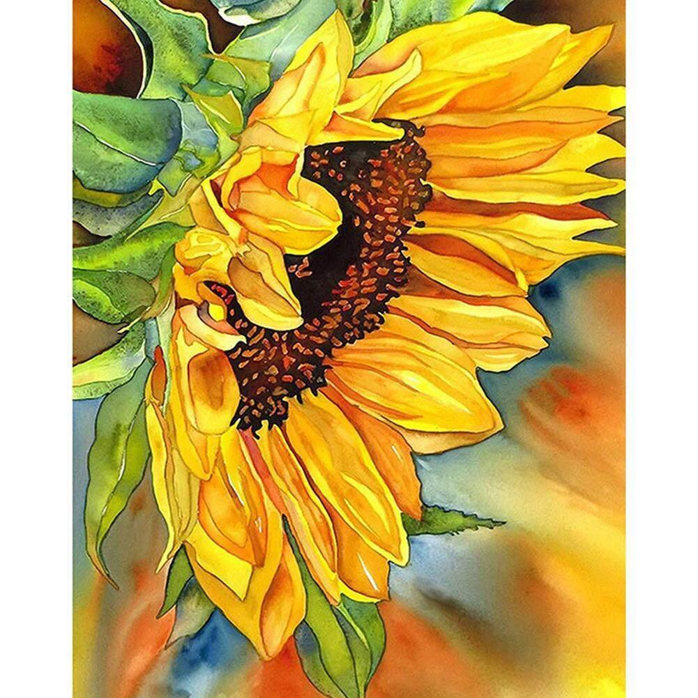 Sunflower 5D Full Drill Diamond Painting Embroidery Cross Stitch Kit DIY Craft