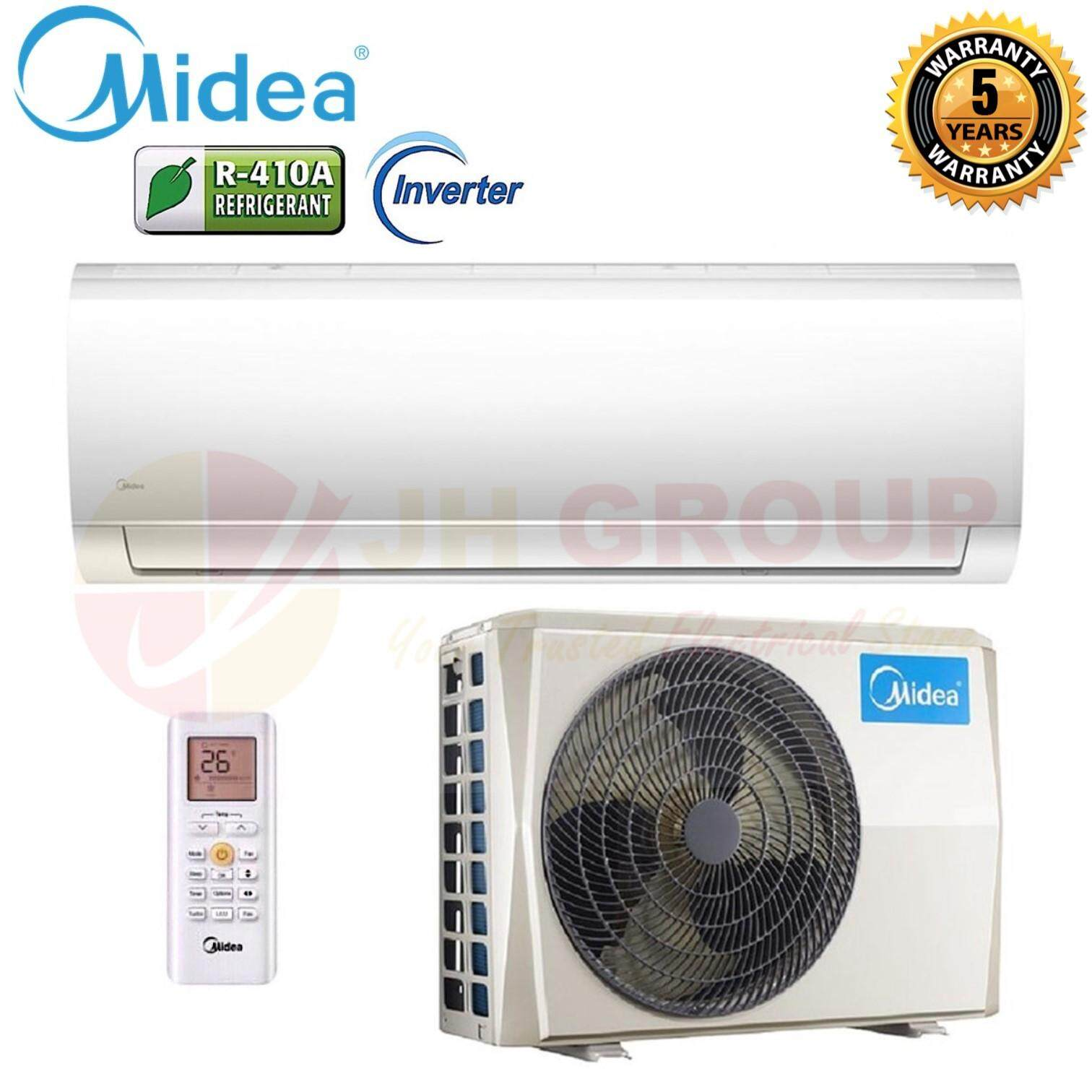 MIDEA MSMA-12CRDN1 1.5HP INVERTER WALL MOUNTED SPLIT AIR CONDITIONER with SUPER IONIZER SMART CONTROL
