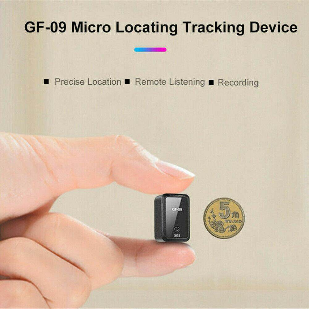 GF-09 Mini Magnetic GPS Real Time Tracker Car Pet Anti-theft Spy Locator  Tracking Device WiFi+APP Control