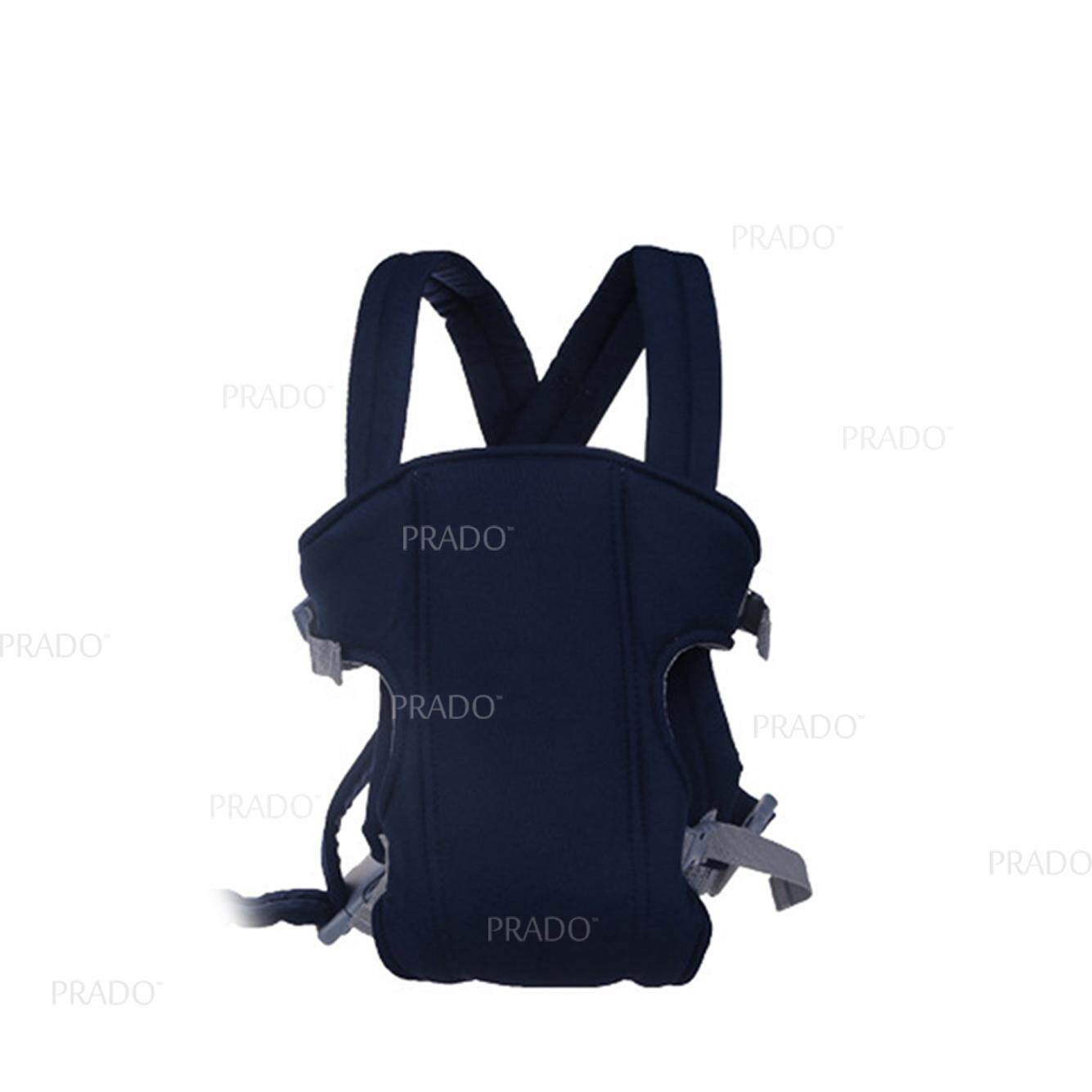 PRADO Malaysia Cross Back Baby Carrier Bag 1088 Front Breathable Infant Backpack TKB-BAG-1088-DB