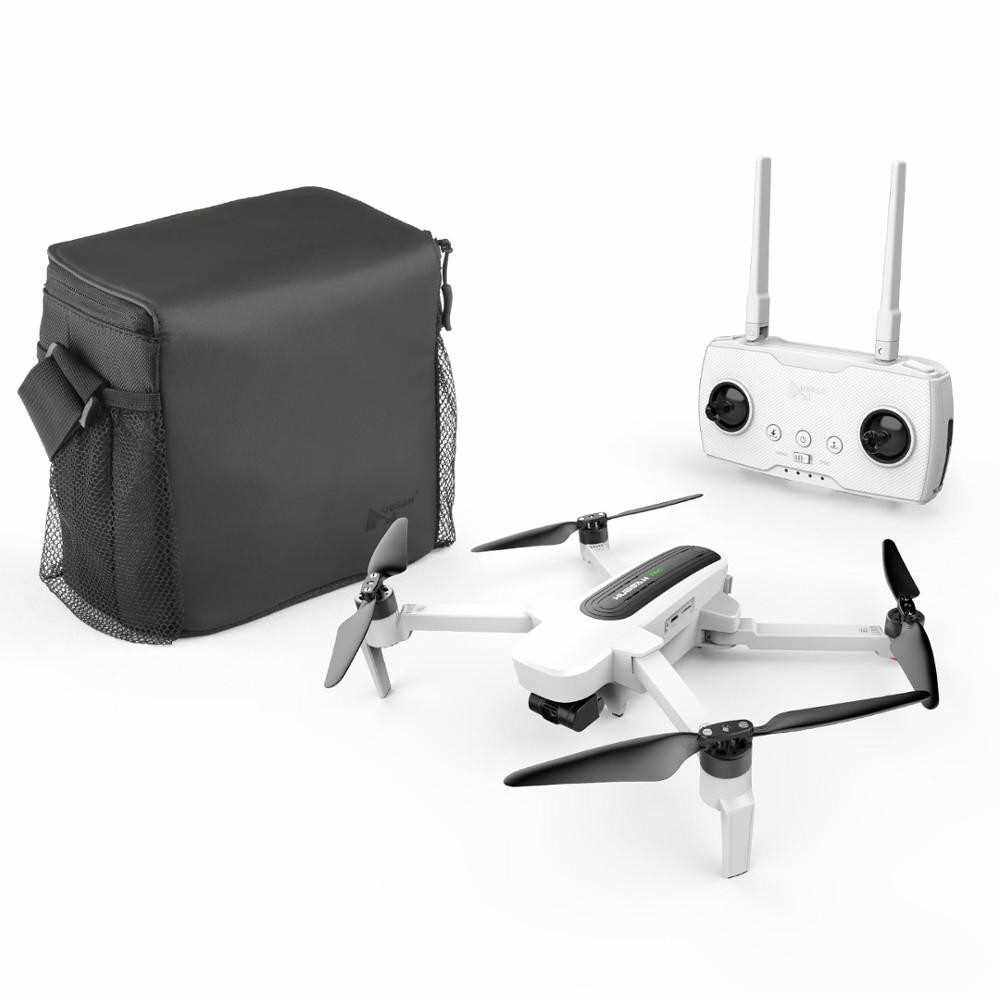 Hubsan H117S Zino 1KM GPS 5G WiFi FPV 4K UHD Camera RC Drone with Storage Bag Car Charger 2 Battery Spare Propeller (White2)