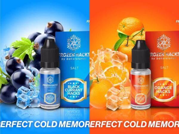 Baker Stoner Frozen Hacks Series 10ml 2 Lines Up Available Original E-Juice Ready Stock Malaysia