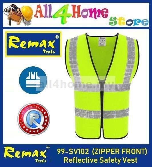 99-SV102 REMAX Reflective Safety Vest (ZIPPER FRONT)
