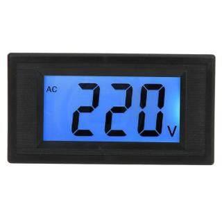 Giá rẻ cvvww Canca, Vôn Kế Hiển Thị Kỹ Thuật Số Hai Dây LCD YB5135D, AC Điện Áp Tester Meter Bảng Điều Chỉnh Phạm Vi Đo AC80-500V thumbnail
