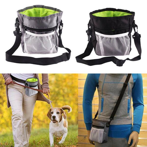 WRESTLESTORE19E6 New Oxford Cloth Lightweight Portable Pet Dog Training Bags Treat Training Bag Pet Pouch Food Treat Snack Bag