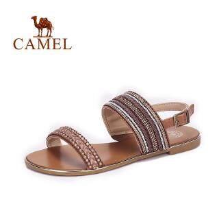 Giày Nữ Camel, Xăng Đan Đế Bằng Dép Xăng Đan Nữ Đế Bằng Mùa Hè Giày Đi Biển Nữ, Giày Thường Ngày thumbnail