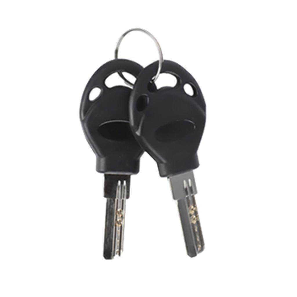 90cm 3ft Anti-theft Locks Motorcycle Bicycle Chain Lock Key