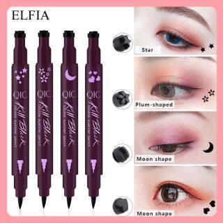 Bút Kẻ Mắt ELFIA Chống Nước Trang Điểm Lâu Trôi Mỹ Phẩm Lỏng Kẻ Mắt Bút Tem Trang Điểm Mắt thumbnail