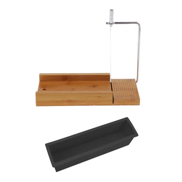 Mua Máy Cắt Xà Phòng Bằng Gỗ Blesiya Với Máy Cắt Dây & DIY Làm Xà Phòng Loaf Silicone Khuôn