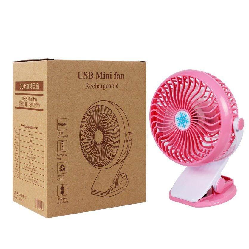 Bảng giá OH Clip Fan 360 Độ USB Sạc Vô Cấp Tốc Độ DeskOH Quạt Phong Vũ