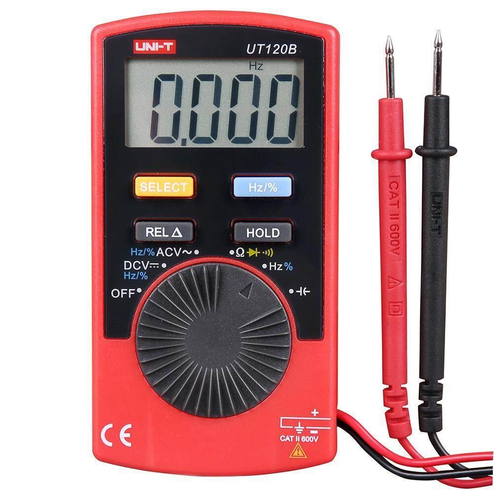 UNI-T UT120B Tự Động-Phạm vi Kỹ Thuật Số Đồng Hồ Đo Vạn Năng AC DC Volt Điện Dung Bút Thử Điện