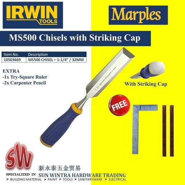 IRWIN 1-1/4 (32MM) MS500 MARPLES WOOD CHISEL