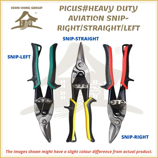 PICUS# HEAVY DUTY AVIATION SNIP - RIGHT/STRAIGHT/LEFT / Gunting Pokok Bunga