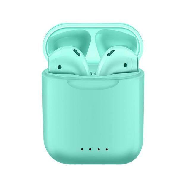I88 TWS Bluetooth 5.0 Tai Nghe Không Dây Mini Earpod Cảm Ứng Tai Nghe Nhét Tai Tai Nghe Nhét Tai cho iPhone Android
