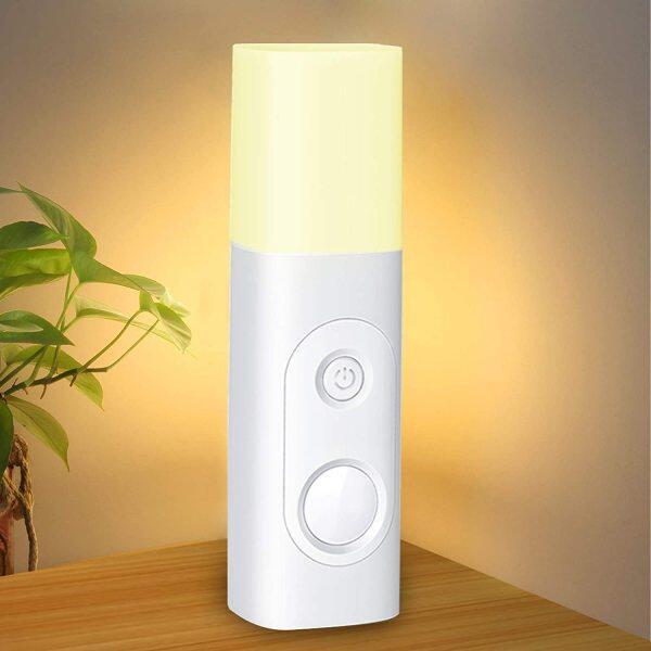 Đèn Ngủ Cảm Biến Chuyển Động, Đèn Bàn LED Cầm Tay Sạc USB, Đèn Ngủ Kích Hoạt Chuyển Động Không Dây Tiên Tiến Cho Phòng Ngủ Trẻ Em Phòng Tắm Đọc Sách Trong Nhà/Ngoài Trời