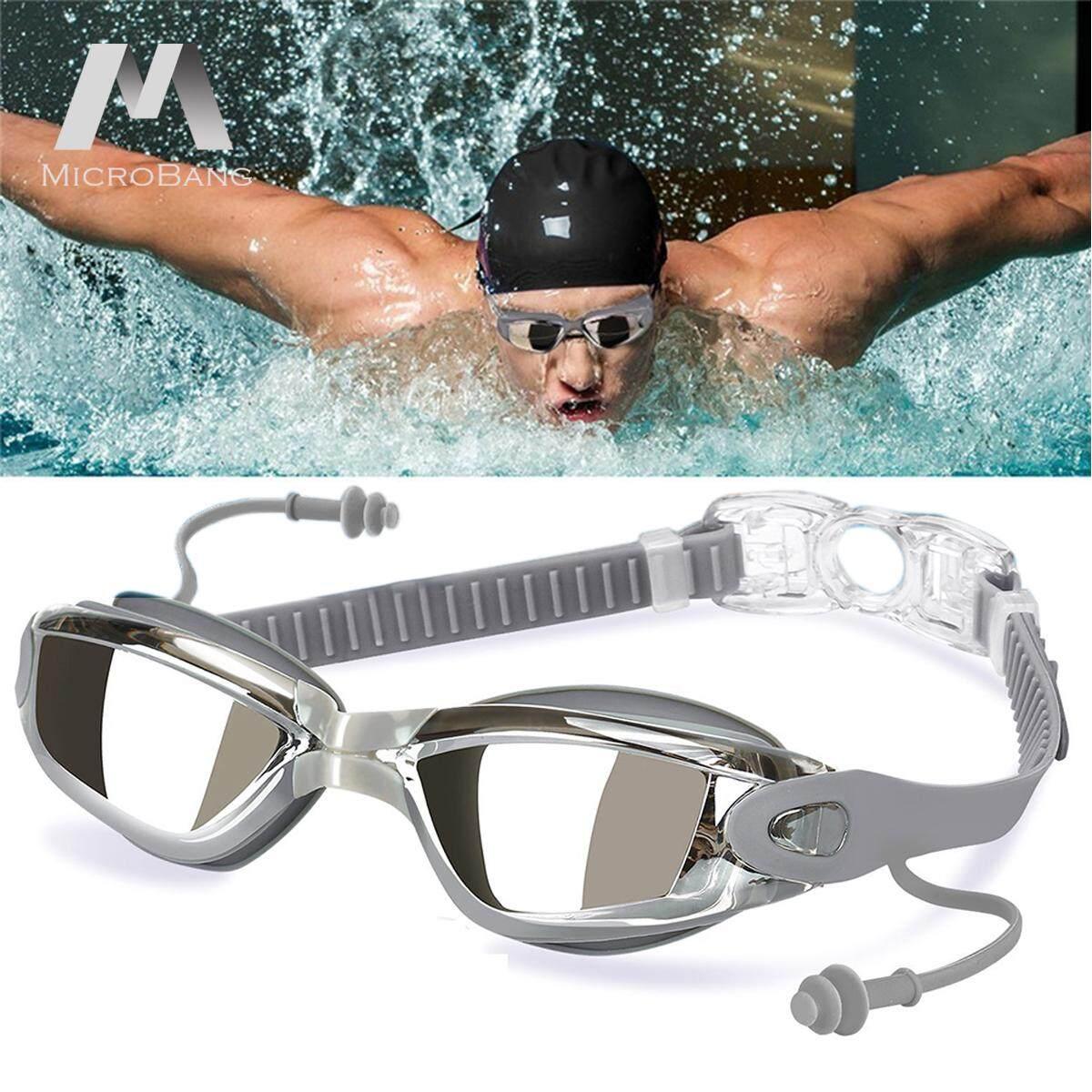 1cf4685bb9d China. MicroBang Swim Goggles, Swimming Goggles for Adult Men Women Youth  Kids Child, Triathlon Equipment