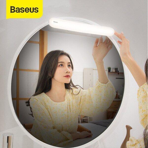 Baseus Đèn LED Gương USB Đèn Trang Điểm Bàn Trang Điểm, Đèn Gương Trang Điểm Cảm Ứng Điều Chỉnh Được Cho Phòng Tắm Đèn Bàn Trang Điểm Treo Tường