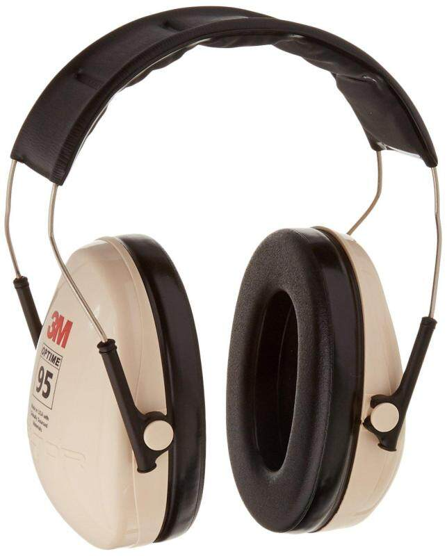 3M Peltor H6A\V Optime 95 Over the Head Noise Reduction Earmuff, Hearing Protection, Ear Protectors, NRR 21dB