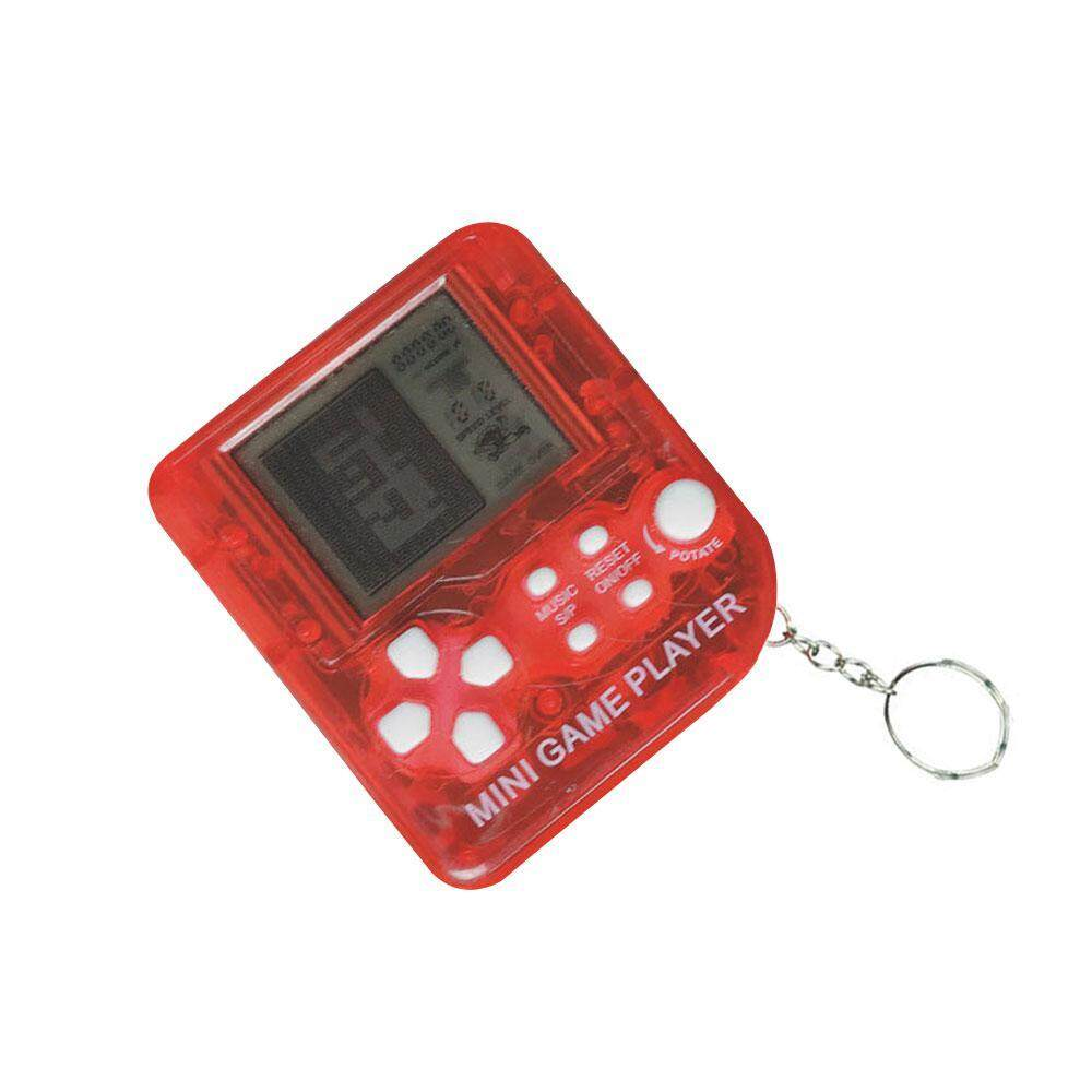 Goodgreat Mini Game Console Keyring Game Player With Built-In 26 Games, Portable Handheld Tetris Gaming Console For Kids, Random Colour By Good&great.