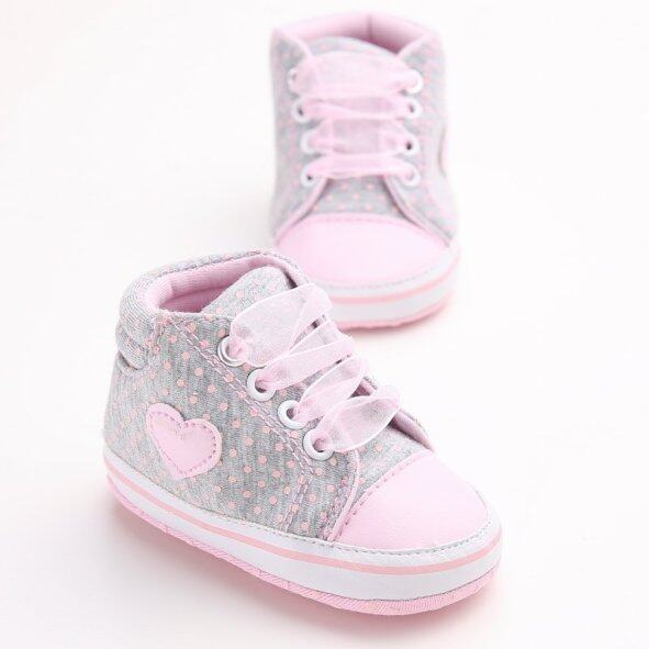 Giày Đi Trong Cũi Cho Trẻ Sơ Sinh, Giày Độn Đế Mềm, Chống Trơn Trượt, Chấm Bi Cho Bé Trai, Bé Gái, Trẻ Sơ Sinh giá rẻ