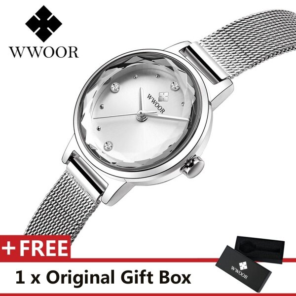 WWOOR WR8871 Top Luxury Brand Watch For Women Fashion Woman Quartz Watches Trend Wristwatch Gift For Female Jam Tangan Wanita Malaysia