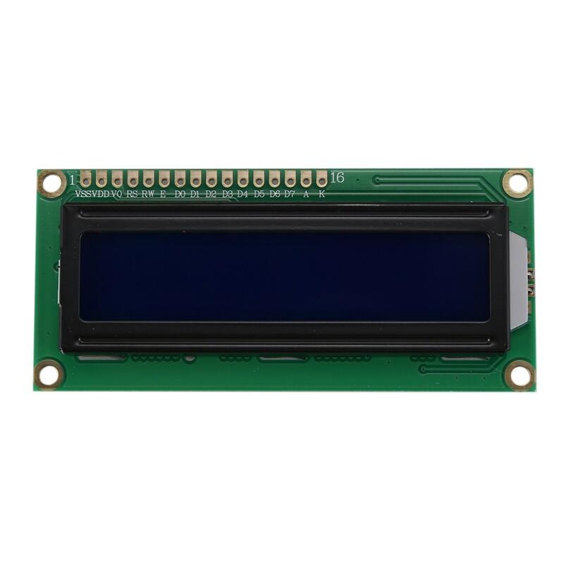 Giá HD44780 16x2 LCD Module White mark blue backlight