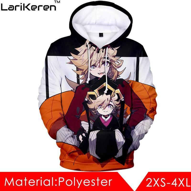 Hot Sale Adult Sweater (XXS-4XL), 3D Digital Color Printing Hooded Sweater, Japanese Anime Demon Slayer, Kimetsu no Yaiba, Cosplay Costume Hoodies