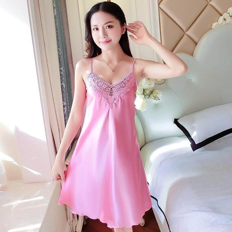 Yta Summer New Sexy Seductive Sling Skirt Silk Thin Dress Lady Silk By Just Waiting International Mall.