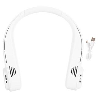 Quạt Treo Cổ, Công Cụ Làm Mát Điện Mini Không Cánh Nút USB Không Cánh, Dành Cho Ngoài Trời 5 W L18 Trắng thumbnail