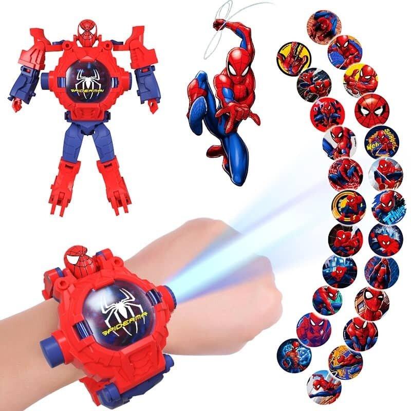 Ready Stock Toy Kids Digital Watch Avengers Transformer Jam Tangan Kanak Malaysia