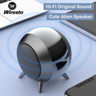 Loa Bluetooth Không Dây Wiresto, Loa Mini Cầm Tay, Loa Bass TWS Loa Âm Thanh Nổi Âm Thanh Vòm Cuộc Gọi Di Động Loa Âm Trầm Nặng Hi-Fi Loa Ngoài Trời Loa Lớn Vỏ Kim Loại thumbnail