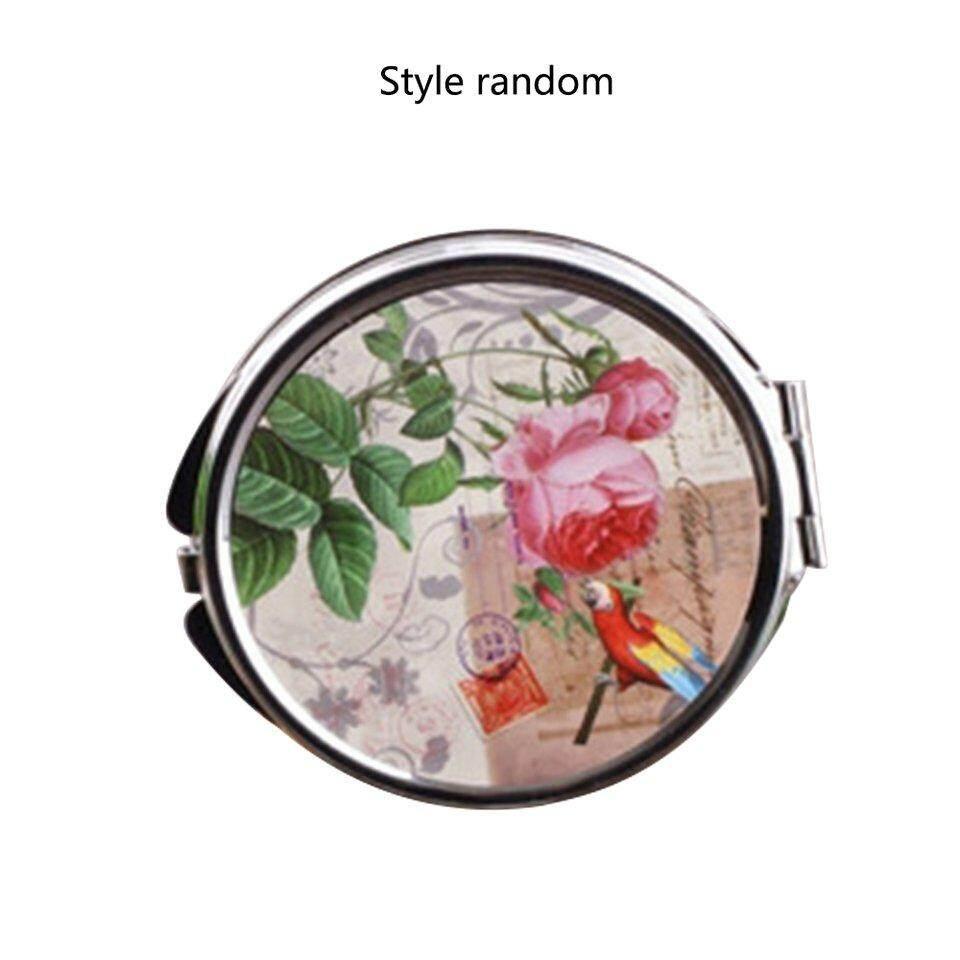 ผู้ขายที่ดีที่สุด 828 T เกาหลีโลหะกระจกกระจกแต่งหน้ากระจกสำหรับแต่งตัวเดสก์ท็อปกระจกหมุนได้ 1:2 การขยายฟังก์ชั่นกระจกแต่งหน้า By Beau-Store512.
