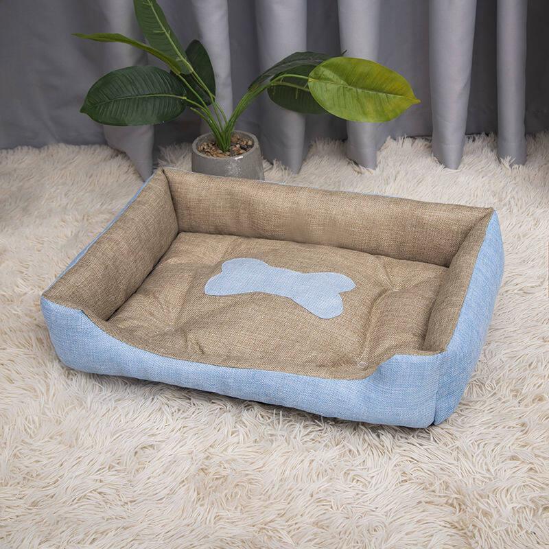 Valazo Net Red kennel Pet Mat Teddy chó nhỏ và trung bình chó lớn cung cấp Giường mèo xả rác bốn mùa chung