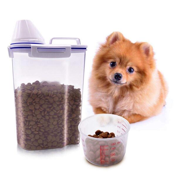 Hộp đựng thức ăn cho chó, hộp đựng thức ăn cho thú cưng, mèo, chống ẩm, chống oxy hóa, dung tích lớn