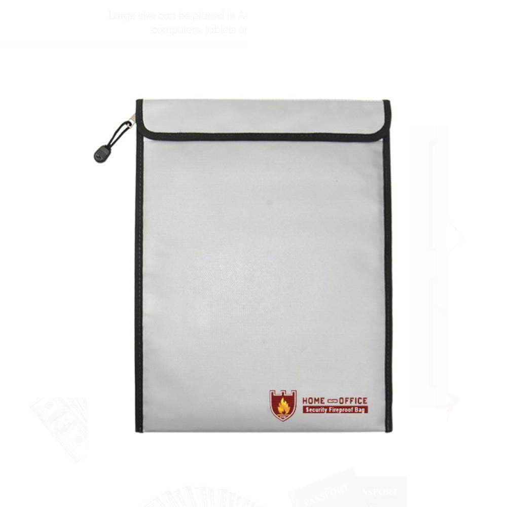 Docesty Fireproof Document Fire Resistant Pouch Document Waterproof Bag For Money Safe By Docesty.