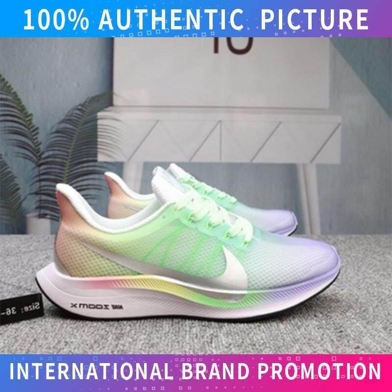 Wholesale Price  Resmi NIKE_ZOOM Pegasus 35 Turbo Unisex Street Low Top Sepatu Kanvas Sepatu untuk Pria dan Wanita Sepatu Skateboard (Hitam Putih)